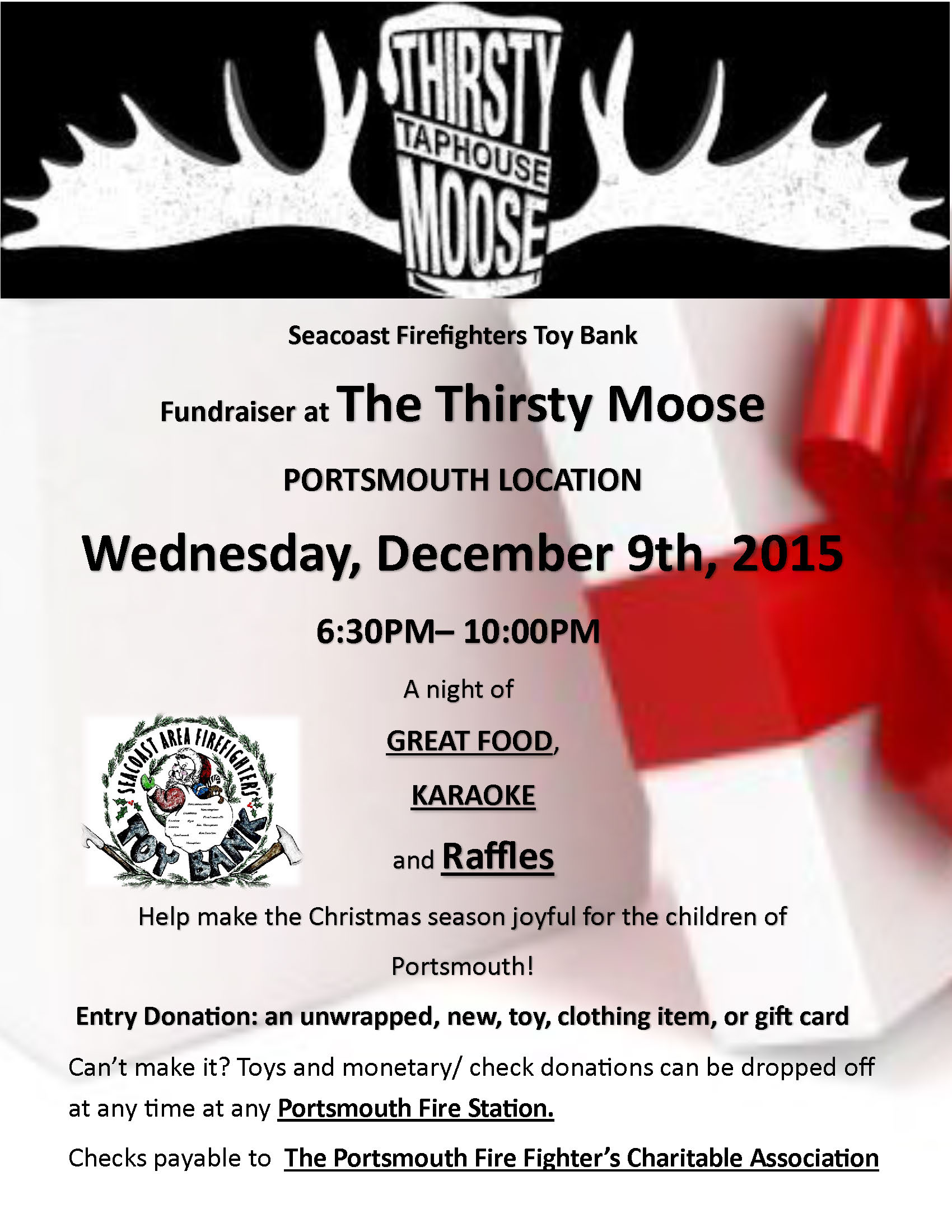 Portsmouth FF Charitable Association | Toy Bank